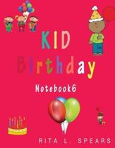 Kid Birthday Notebook6