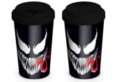 Marvel: Venom Face Travel Mug