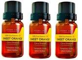 Etherische Olien | Sinaasappel olie | Essential oils | Essentiele olie | Geurolie | 3 flesjes (30ML) | Sweet Orange Oil| Etherische olie | Aromatherapie | Oil diffuser