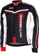 Rogelli Gara Mostro  Fietsshirt - Maat XL  - Mannen - zwart/rood