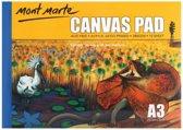Mont Marte Canvas blok 10st A3 - 280 grams papier - schetsboek