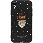 My Jewellery Design Backcover iPhone Xr hoesje - Le Tigre