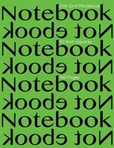 Dot Grid Notebook 1/2 Inch Squares 160 Pages