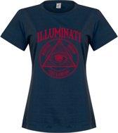 Illuminati Dames T-Shirt - Navy - S