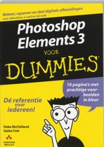 Voor Dummies - Photoshop Elements 3 voor Dummies