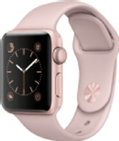 iwatch bandjes - roze sport Apple Watch bandje 38mm