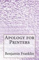 Apology for Printers