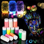 Glow In The Dark Schmink / Makeup / Body Paint / Verf - Neon / Lichtgroen