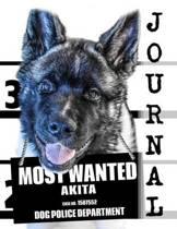 Most Wanted Akita Journal