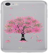 4-OK iPhone 8 / 7 Flower Cover Pink Tree