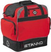 Stanno Sporttas - rood/zwart/grijs