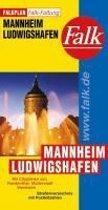 Falk Stadtplan Falkfaltung Mannheim / Ludwigshafen 1 : 25 000