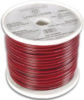 Velleman LOW2150RB audio kabel 100 m Zwart, Rood