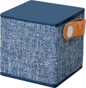 Fresh 'n Rebel Rockbox Cube Fabriq - Draadloze Bluetooth Speaker - Blauw
