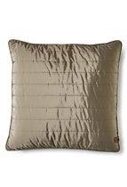 Rivièra Maison - RM Winter Jacket Pillow Cover stone 50x50 - Sierkussen - Grijs - Polyester