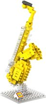 Nieuwste rage uit japan uit de serie Muziek de Saxofoon in nanoblocks -mini lego*
