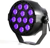 Blacklight UV led par (12x3W)