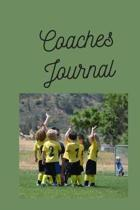 Coaches Journal: Notebook for reflection and planning. Keeping track of progress and developing way to help your player improve and inc