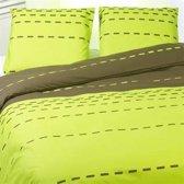 Snoozing Dafne dekbedovertrek Green Lits-jumeaux (270x200/220 cm + 2 slopen) (dafne)