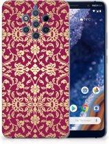 Nokia 9 PureView Siliconen Hoesje Barok Pink