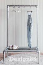 Design85 - Kinderkapstok - 80cm - Steigerbuis