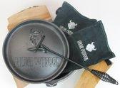 Valhal Outdoor - 3L Dutch oven + BBQ handschoenen + Deksellifter Combi-Deal