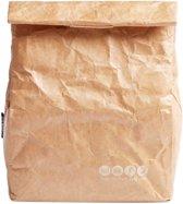 Herbruikbare lunchbag - duurzame lunch 'trommel' van papier
