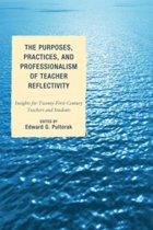 Boekomslag van 'The Purposes, Practices, and Professionalism of Teacher Reflectivity'