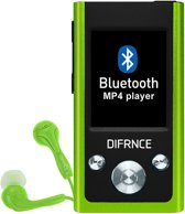 DIFRNCE MP1811 4GB Bluetooth Lime
