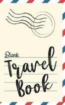 Blank Travel Book