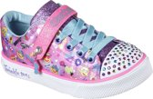 Skechers Twinkle Breeze 2.0-Character Sneakers Meisjes - Hot Pink Multi - Maat  33