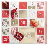 Kerst advent kalender om zelf te vullen