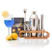 Nince Luxe Cocktail shaker set van hoge kwaliteit - Cocktail set 11 delig - Origineel cadeau
