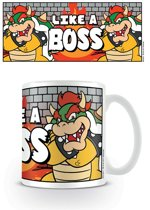 Nintendo SUPER MARIO (LIKE A BOSS) MUG /Merchandise