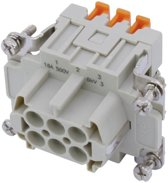 ILME Squich socket insert 6-pole 16A 500V