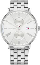 Tommy Hilfiger TH1782068 Horloge - Staal - Zilverkleurig - Ø 38 mm