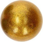 Johntoy Glitterstressbal 7 Cm Goud