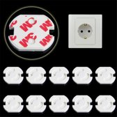 Stopcontactbeveiliging  15 Stuks - Stopcontact bescherming - stevige stopcontactbeveiligers 15 stuks - Stopcontact beschermers - Stopcontactbeschermers baby - Stopcontactbeveiliging - Veiligheid Baby - Veiligheid in huis