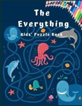 The Everything Kids Puzzle Book: Maze Activity Book for Kids. Great for Developing Problem Solving Skills, Spatial Awareness, and Critical Thinking Sk