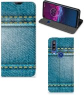 Motorola One Action Hippe Standcase Jeans