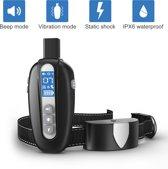 Trainingsband Trainingshalsband vibratie en geluid oplaadbaar Petainer 998N - 5 jaar garantie