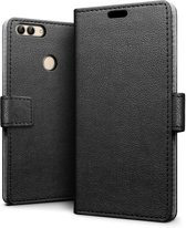Knaldeals.com - Huawei P Smart hoesje - Book Wallet Case - zwart