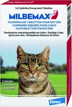 Milbemax Ontworming Kat - 2-8 kg - 2 tabletten