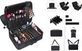 Visagie make-up kappers koffer cosmetica