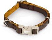 Beeztees Soft Touch - Hondenhalsband - Bruin - 25-40x1,5 cm