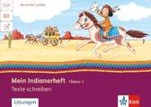 Mein Indianerheft. Texte schreiben 3. Arbeitsheft 3. Schuljahr