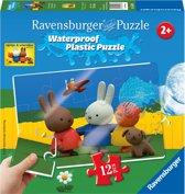 Ravensburger nijntje plastic puzzle - 12 stukjes- kinderpuzzel
