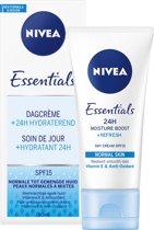 NNIVEA Essentials Hydraterende Dagcrème - SPF 15 - 50ml