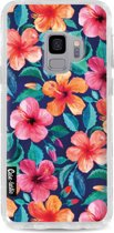 Casetastic Hard Case Samsung Galaxy S9  - Colorful Hibiscus