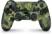 Playstation 4 Controller Skin Camouflage Groen- PS4 Controller Sticker